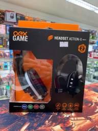 Headset Gamer Para Xbox One Ps4 e Switch 2 Anos de Garantia