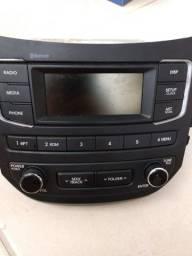 Radio Som Original Hb20 Hyundai Com Bluetooth Acb10ijbs 2018-2019