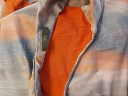 Vestido curto de um ombro só, XPTO