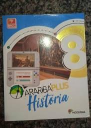 Livro de história 8° ano Araribá plus usado