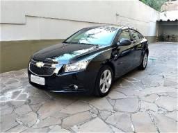 GM- Cruze sedan Automatico, Top,  Couro, 60.000km, Ú. dono, Impecável, financio