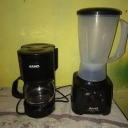 Vende-se cafeteira liquidificador