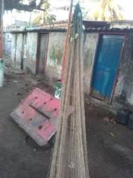 Rede de pescada 4 panos usada. Apenas 3.000 reais