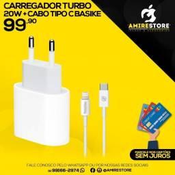 Carregador Turbo 20w iPhone