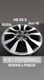 Roda HB20 X Premium 2016/2017 aro 16 Original por R$550,00 cada