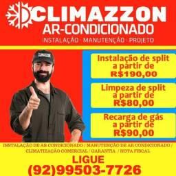 Recarga de gás para Split, limpeza, instalação e manutenção 9503-7726