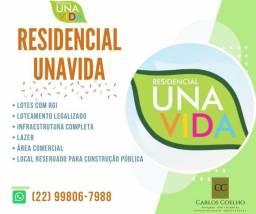 Lotes com RGI no Residencial Unavida!! Promoção Imperdível!!