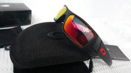 19f978f970057 Óculos Oakley Gascan Preto c  Lente Rubi Polarizado - Importado e Novo -  Raridade