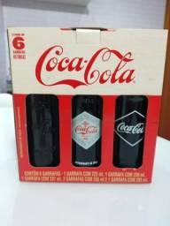 Garrafas Históricas Coca Cola - Cheias para Coleção