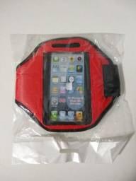 Braçadeira Porta Celular Smartphone iPhone Sony Xperi Z Z2 Z3