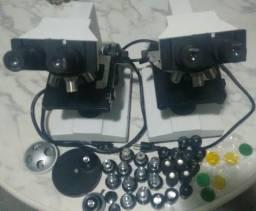 Microscópio Biológico Lote