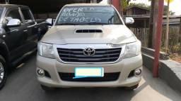 Toyota hilux cd srv 3.0 auto 4x4 diesel - 2014