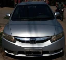 Honda Civic LXS flex - 2007/2008 + Automático - Prata - 2007