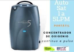 Concentrador de oxigênio portátil - ECLIPSE 5 fabricado nos EUA