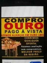 Ouro Ouro (90 )reais a grama 18k