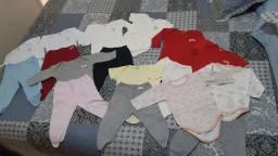 Lote roupas RN para meninas
