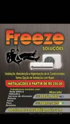 Instalação de ar condicionado a partir de $250