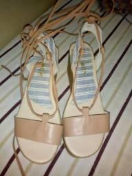 Linda bolsa e sandália super novos! Oportunidade