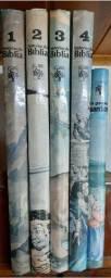 Histórias da bíblia - Coleção completa e encadernada. Impecável!
