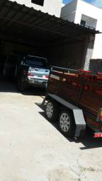 Carreta/Carretinha para carga pesada.
