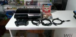 PlayStation 3 fat 80GB  entrega/parcela12x