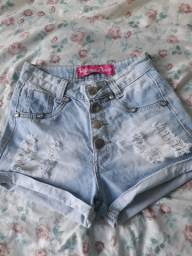 Shortinho jeans  $ 25