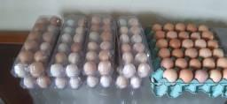 Ovos caipira e de galinha rhodia