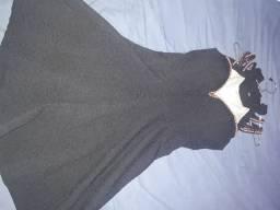 Vestido usado duas vezes