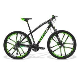 Bicicleta Gts Aro 29 Freio a Disco Hidráulico 27 Marchas e Amortecedor
