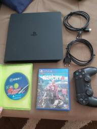 Playstation 4 Slim 1TB + Far Cry 4 + Fifa 19