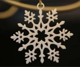 Enfeite de natal - Floco de Neve