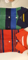 Lote Camisa Polo Tommy-Hilfiger