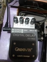 Pedal De Guitarra  Digital  delay