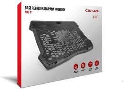 Base para Notebook Refrigerada C3Tech Cooler Preto Nbc-01Bk