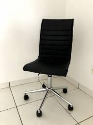 Cadeira de Escritório Giratória Preta