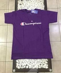 Camiseta Champion cor vinho