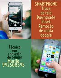 Conserto em celulares