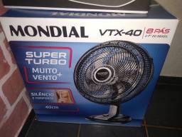 Ventilador 40 cm turbo novo caixa lacrada