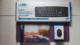 Kit Teclado + Mouse + Mouse Pad ?Novos? * 99,99 * Aceitamos Caixa TEM / Cartão