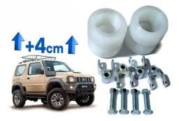 Kit Calços Suspensão 4cm Suzuki Jimny Lift 1 1/2 Polegada