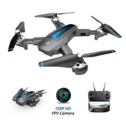 Drone com Câmera Wi-Fi 720P Função Altitude Hold 3D Flips 2 Baterias