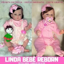Boneca Bebê Reborn Linda - Feita A Mão Pronta Entrega