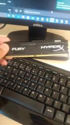 Memória RAM Hyperx DDR4 8gb 2133MHz