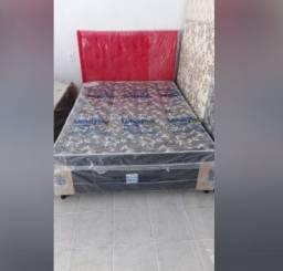 Show de oferta cama box casal com colchão novo