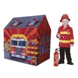 Barraca infantil bombeiro Paranavaí