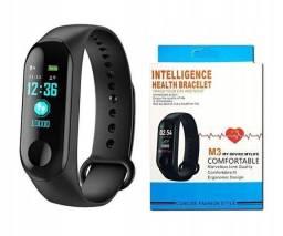 Smartband M3 Pulseira Inteligente Corrida Medidor Cardíaco