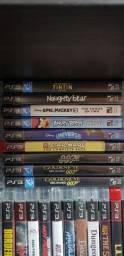 Jogos originais de Playstation 3.