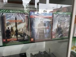Jogos de PS4 e Xbox One Novos Lacrados