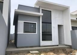 Casa em fase final de acabamento a venda próxima ao Komprão de Tijucas