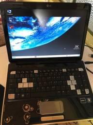 Notebook HP 4 GB de memória